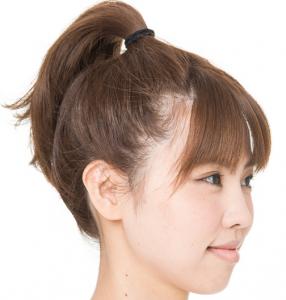 石原さとみの髪型でアップする方法