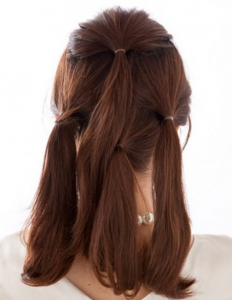 石原さとみのかわいいアップの髪型、作り方