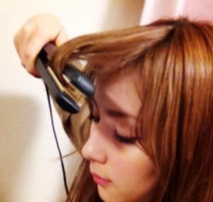 石原さとみの髪型、前髪の作り方