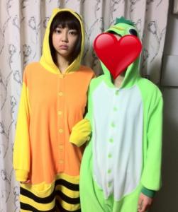 山谷花純と妹