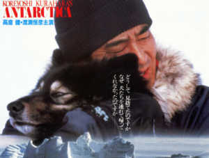 いろいろと話題になった「南極物語」